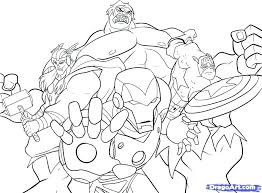 Collection Of Coloring Pages Of Marvel Avengers Download Them And