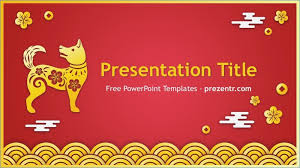 Chinese New Year Ppt Chinese Ppt Template Rome Fontanacountryinn Com