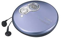 sony discman. dej751l - g-protection cd walkman (blue) sony discman d