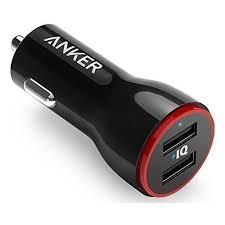 Автомобильное <b>зарядное устройство Anker PowerDrive</b> 2 24W 2 ...