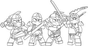 Lego Ninjago Coloring Pages Stadriemblems