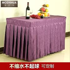 round table skirts yunhigh tutu tulle table skirts for rectangle round