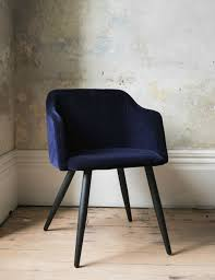 blue velvet dining chairs. Nordic Velvet Dining Chair Blue Chairs O