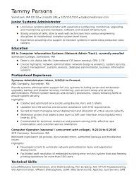 Senior Linux System Administrator Resume Systems Network