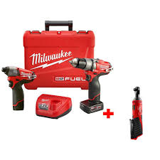 home depot milwaukee tools. milwaukee m12 fuel 12-volt lithium-ion 1/2 in. cordless hammer home depot tools l
