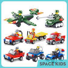 Đồ chơi Lego city và minifigures giá rẻ xếp hình, lắp ghép ô tô cảnh sát,  cứu hỏa từ 41 đến 53 chi tiết chính hãng 35,000đ