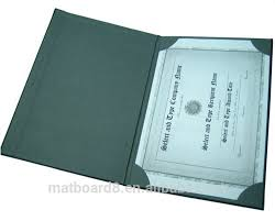 excellent certificate holder leather diploma cover various colors leather folder for certificates