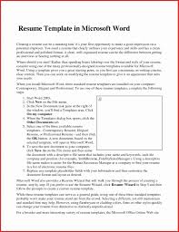 Impressive Resume Templates Word Template Free Download 2003 Simple