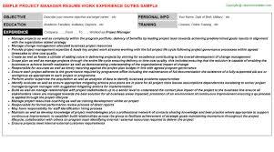 ... Asp Net Project Description In Resumeasp Project Description In Resume  by Project Manager 3 Resumes ...
