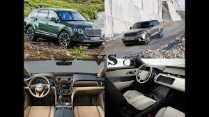2018 bentley bentayga mulliner. interesting mulliner luxury 2018 bentley bentayga mulliner vs land rover range velar inside bentley bentayga mulliner