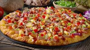 round table pizza create your own luau