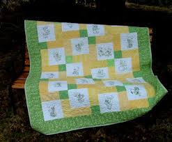 Advanced Embroidery Designs. Baby Animals Children Quilt. | Quilt ... & Modern Baby Quilt Patterns for Beginners Adamdwight.com