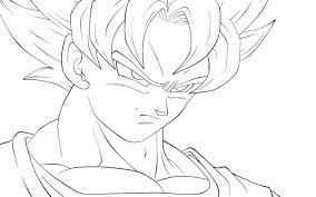 Dragon Ball Z Coloring Pages Goku Super Saiyan God Kid 3 Drop Dead