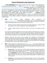 Residential Lease Contract Rental Agreement Document Template