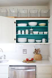 Inside Kitchen Cabinet Storage Lovely Decoration Painting Inside Kitchen Cabinets Projects
