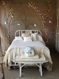 indoor string lighting. Dark Brown Wooden Bedside Table Indoor String Lights For Bedroom Lighting T