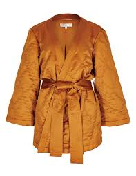 3/4 Sleeve Quilted Kimono Belted Jacket | M&S & 3/4 Sleeve Quilted Kimono Belted Jacket Adamdwight.com