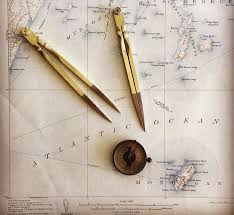 Brass Chart Dividers Magma Metalworks Inc Captains Chart Dividers Hand