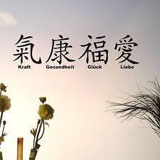 Bildergebnis für Chinesisches Zeichen Glück