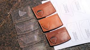 Leather Templates Make A Leather Guitar Pick Wallet Free Pdf Template Build Along