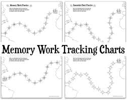 Chart Track Memory Work Tracking Charts Half A Hundred Acre Wood