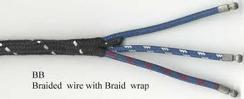 british wiring classic british car wiring harnesses and components bb braided cloth wire a braided cloth wrapping see