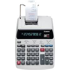 four function calculator canon p170 dh printing calculator
