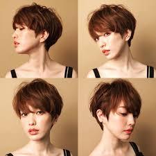 外国人シルエットのシンプルショートヘア Hairdream ヘア