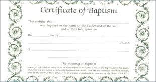 Microsoft Word Certificate Templates Amazing Free Editable Baptism Certificate Template Fascinating Microsoft