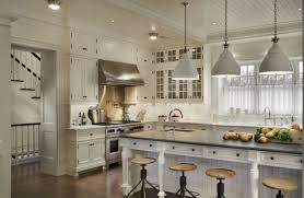 White Pendant Lights Kitchen Best Classic Black And White Kitchen With Silver Range Hood And