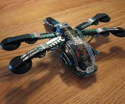 Alternate Directions for LEGO Ninjago Movie Water Strider 70611- Dragonfly  : 3 Steps - Instructables