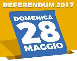 Risultati immagini per referendum 28 maggio 2017 convocazione comizi