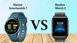 Gionee Smartwatch 7 VS Realme Watch 2 ...