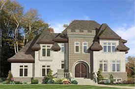 Modern Castle House Plans 3D