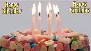 Happy Birthday Cake With Blowing Candles Youtube