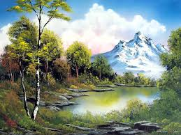 alicia smith s gallery of some of the bob ross landscape oil paintings she has enjoyed