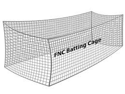 Baseball Batting Cage Net (#21 Nylon) \u2013 Florida Company