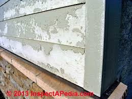 paint failure on fiber cement siding c inspectapedia hugh cairns bc