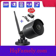Camera IP WiFi ngoài trời Techag không dây 2MP, Chống nước, Âm thanh hai  chiều, Thẻ TF, Ghi hình giám sát Onvif… – HqFamely.com