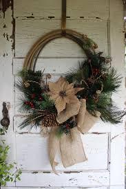 Wreaths By Design Walker La Rustic Western Rope Christmas Wreath Christmas Wreath