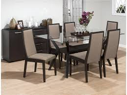 Dining Room Sets 6 Chairs Glass Dining Room Sets Thearmchairscom