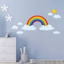 Wandsticker Regenbogen Babyzimmer Xxl Tapetenwelt