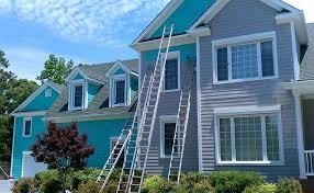 exterior house painters. exterior house painting services - oak island painters t