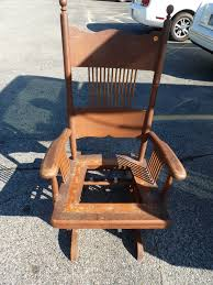 does anyone know where to find a replacement part for an antique platform rocker