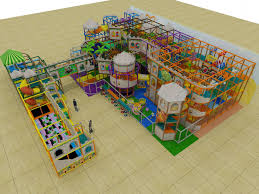 ultimate large castle themed indoor playground structure