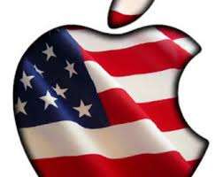 colorful apple logos. translucent american flag apple led logo overlay macbook pro custom class mac book colorful logos