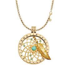 Dream Catchers For Sale Uk Dreamcatcher Dangle Gold Necklace 65