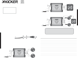 kicker l7 wiring diagram 1 ohm wiring diagrams kicker l7 wiring diagram 1 ohm auto schematic