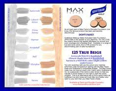 max factor pancake foundation 125 true beige color parison to graftobian water activated cake foundation