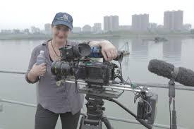 "i played an ""evil american wife"" in a n propaganda film anna broinwoski her camera equipment in"